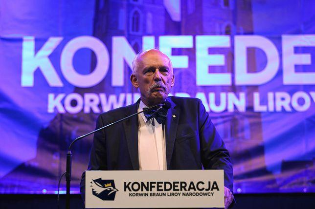 Wyniki wyborów do Europarlamentu 2019. Janusz Korwin-Mikke: coś tu nie gra