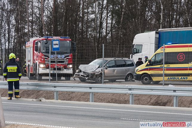 Tragedia na drodze krajowej nr 17 w Gąsowie. W wypadku zginęła jedna osoba