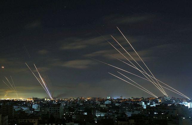 Izrael. Seria ataków lotnictwa na Strefę Gazy