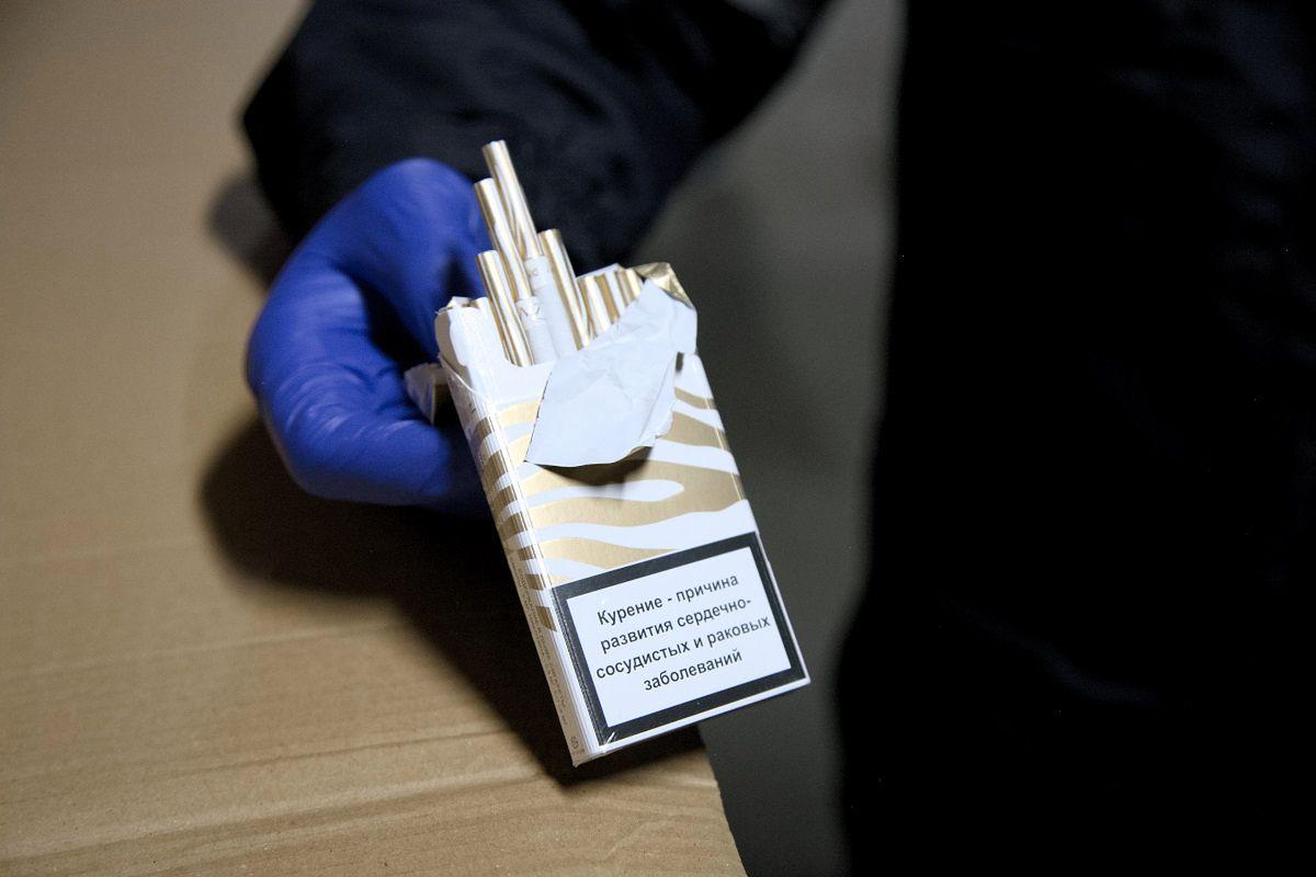 Nielegalne papierosy pomiędzy proszkami na tirze. Państwo mogło stracić ponad 2,4 mln zł