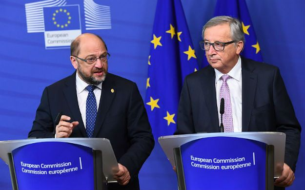 Martin Schulz i Jean-Claude Juncker