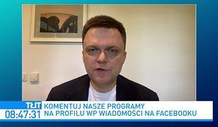 """Polska 2050. Szymona Hołownia pytany o rozmowy z PiS. """"Zdarzyło mi się"""""""