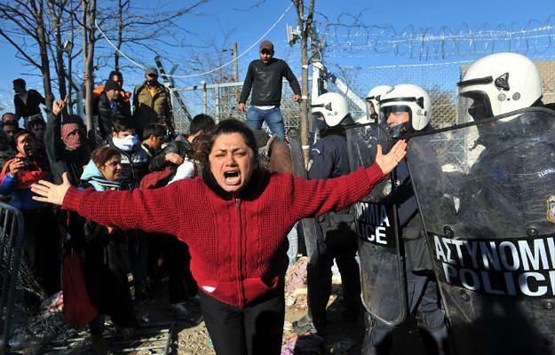 Idomeni, granica grecko-macedońska