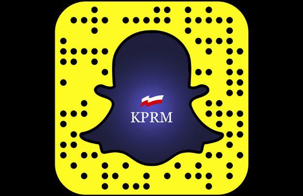 Już od dziś można śledzić Premier Beatę Szydło i KPRM na… Snapchacie!