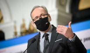 Koronawirus w Polsce. Na zdjęciu minister zdrowia Adam Niedzielski