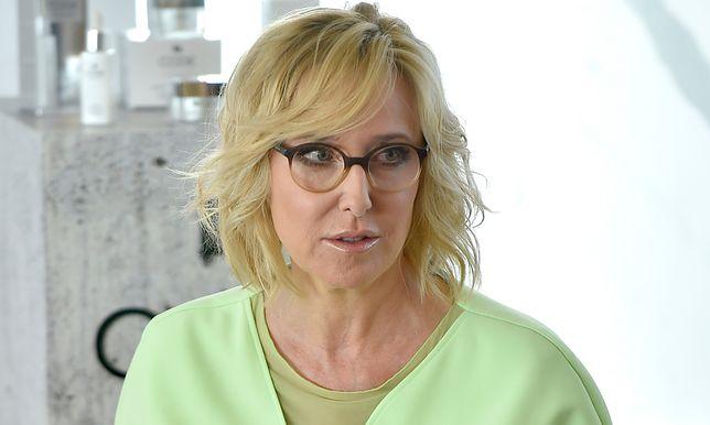 Agata Młynarska dzielnie znosi chorobę.