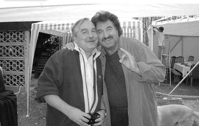 Krzysztof Krawczyk z bratem Andrzejem