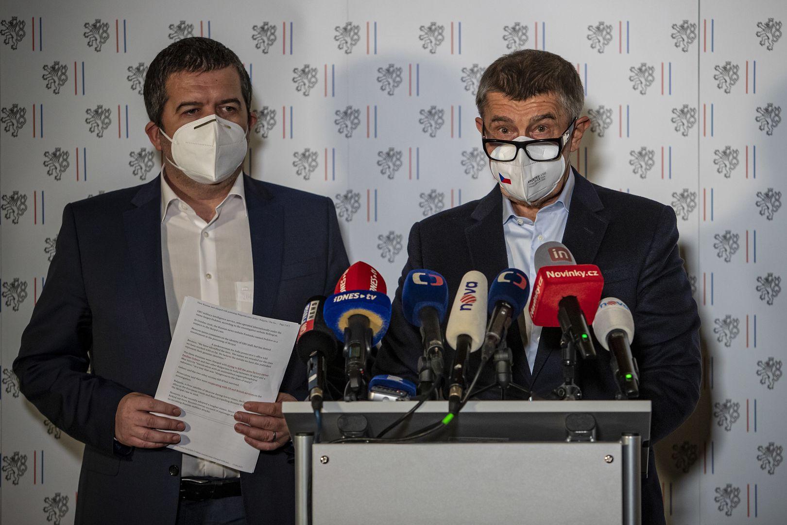 Czeska policja opublikowała wizerunki rosyjskich szpiegów. Mogą mieć powiązania ze sprawą Vrbietic