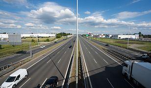 Zablokowana autostrada A4. Problem z nawierzchnią
