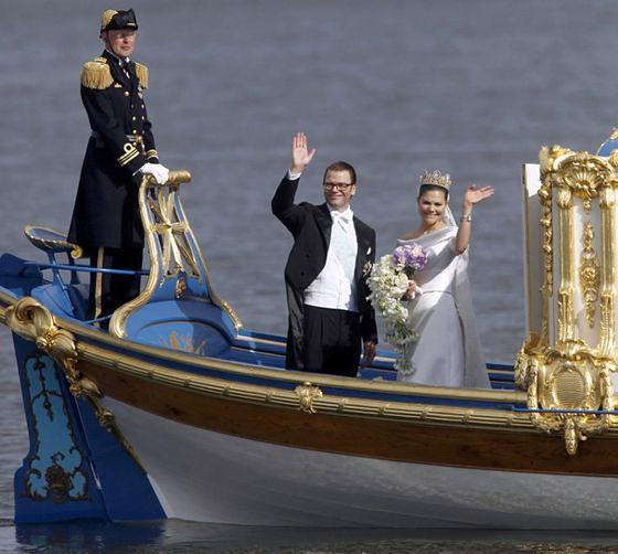 Księżniczka Wiktoria i Daniel Westling