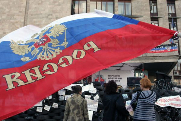 Konflikt na Ukrainie wzmocnił optymizm Rosjan
