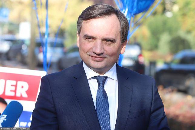 Wybory 2019. Zbigniew Ziobro wylicza zasługi rządu PiS
