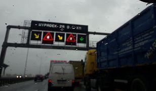 Wrocław. Wypadek na autostradzie A4. Droga zablokowana