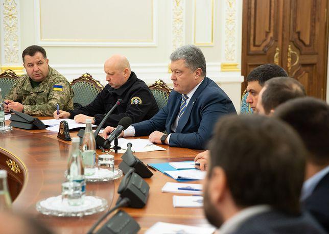 Nocna narada Rady Narodowego Bezpieczeństwa i Obrony Ukrainy
