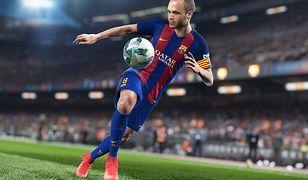 "Grafika z gry ""Pro Evolution Soccer 2018"""