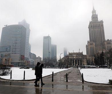 Smog w Warszawie 13 grudnia 2019