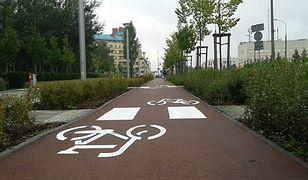 Nowa droga rowerowa przy ul. Przy Bażantarni
