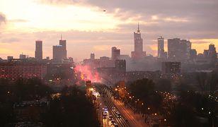 Warszawa. Smog w stolicy 10 grudnia 2019 r.
