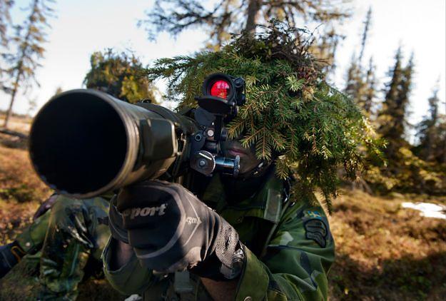 Żołnierz szwedzkich sił zbrojnych