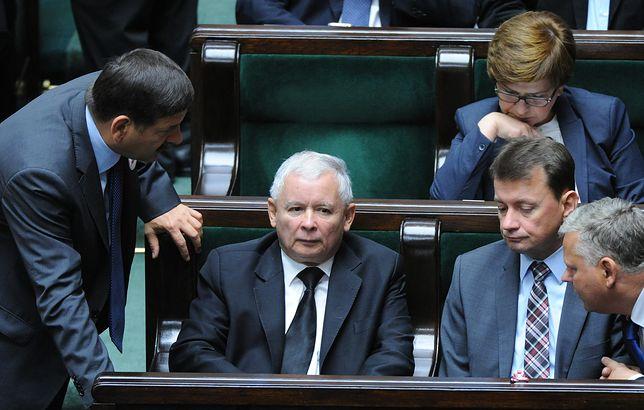 Janusz Śniadek, Jarosław Kaczyński i Mariusz Błaszczak