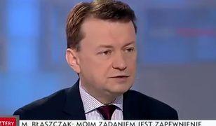 Polsce nie grożą zamachy terrorystyczne. Minister tłumaczy w TVP, że to dzięki PiS