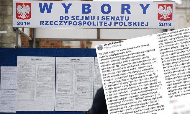 Wybory parlamentarne 2019. Pracownica komisji wyborczej zdradziła, jak wygląda jaj praca