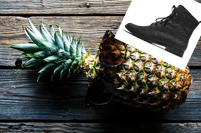 Buty z ananasa. Polska marka tworzy jedyne w swoim rodzaju wegańskie obuwie