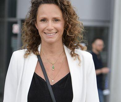 Monika Mrozowska wypoczywa w Hiszpanii. Na plaży poczuła się bardzo swobodnie
