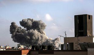 Potężny nalot Izraela na Strefę Gazy. Zabici cywile - to nastolatki
