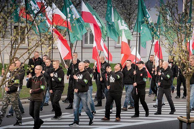 Marsz z okazji 82. rocznicy powstania ONR w Białymstoku