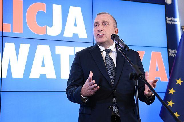 Wybory parlamentarne 2019. Grzegorz Schetyna (przewodniczący Platformy Obywatelskiej) zapowiedział samodzielny start ugrupowania