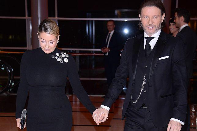 Małgorzata Rozenek-Majdan i Radosław Majdan na Gali Mistrzów Sportu
