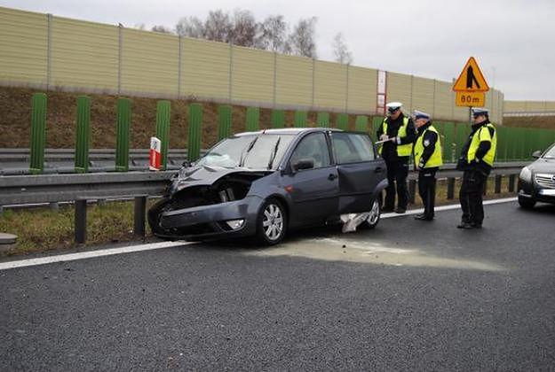 Do jedynego śmiertelnego wypadku doszło w piątek na trasie z Poznania do Gniezna.