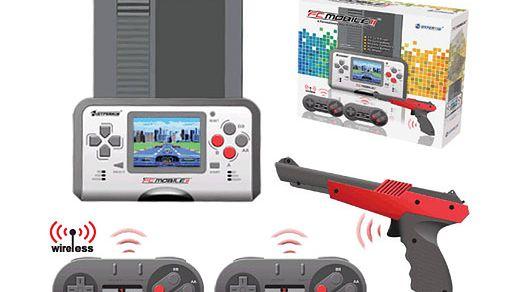 Przenośny NES z bajerami
