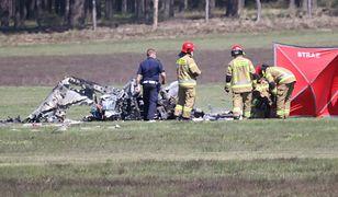 Lubuskie. Katastrofa samolotu w Przylepie. Nie żyje pilot