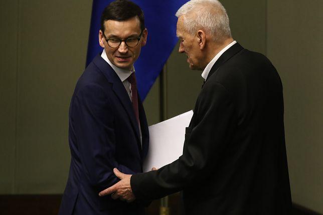 Kornel Morawiecki podkreśla, że jest zadowolony z syna