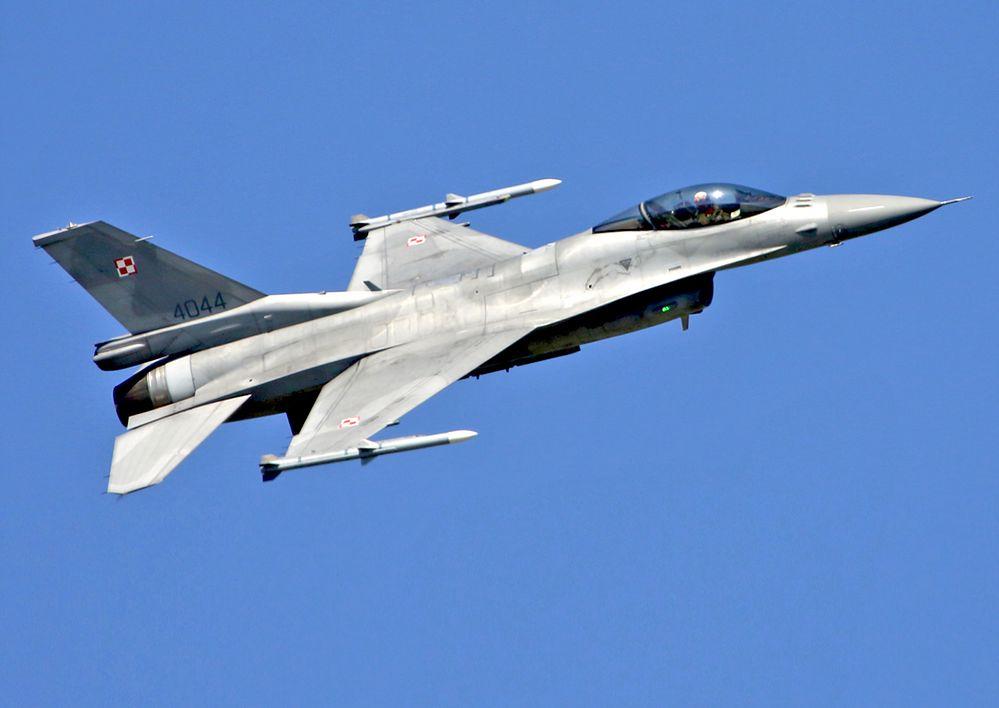 """Polskie F-16 nad Izraelem. """"Bezcenne doświadczenie"""""""