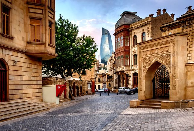 Baku jest stolicą Azerbejdżanu