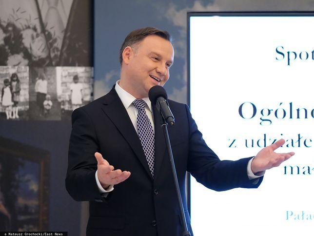 Andrzej Duda składa życzenia na Dzień Babci i Dzień Dziadka