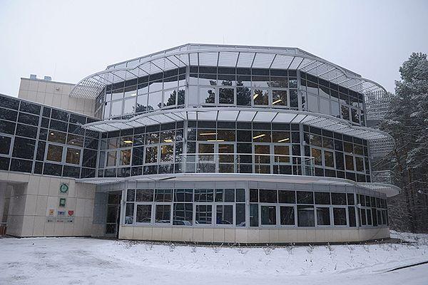 W tym budynku mieści się klinika Budzik