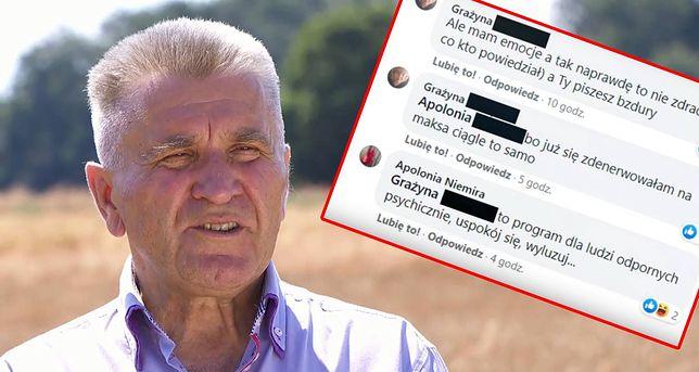 Kandydatki Józka nie wahały się go zaatakować w komentarzach