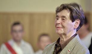 Zofia Romaszewska popiera decyzję prezydent Warszawy