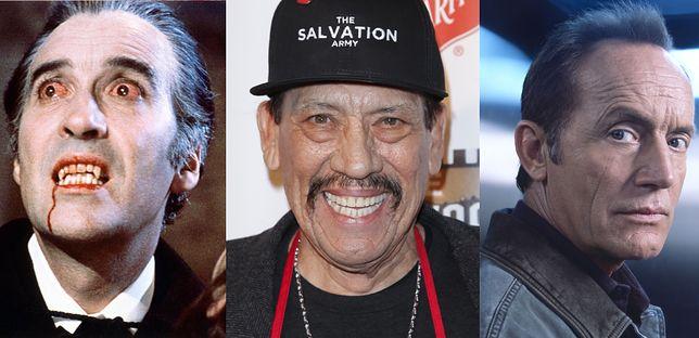 """Christopher Lee, Danny Trejo i Lance Henriksen. Który """"kopnął w kalendarz"""" największą ilość razy?"""