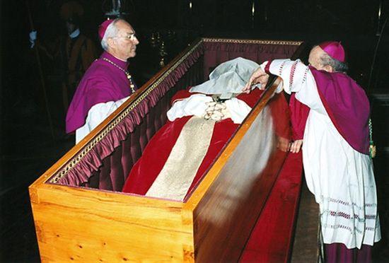 Arcybiskup Stanisław Dziwisz do końca przy Papieżu