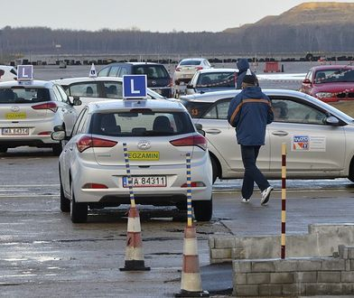 W Polsce zdawalność na egzaminach na prawo jazdy jest na niskim poziomie