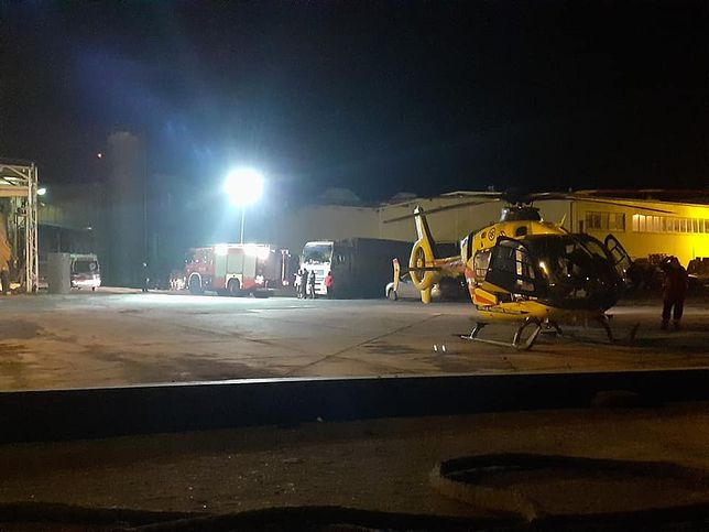 helikopter medyczny