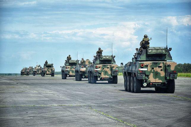Bolesławiec. Zderzenie pojazdów amerykańskiej armii. Nie skoordynowali manewrów