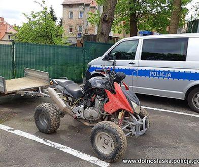 Lubań. Uciekał quadem przed policją. 50-latek zatrzymany