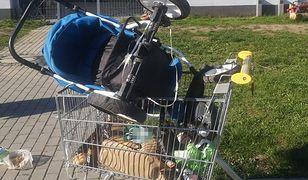 Środa Śląska. Połakomił się na wózki sklepowe. 61-latek ma problemy
