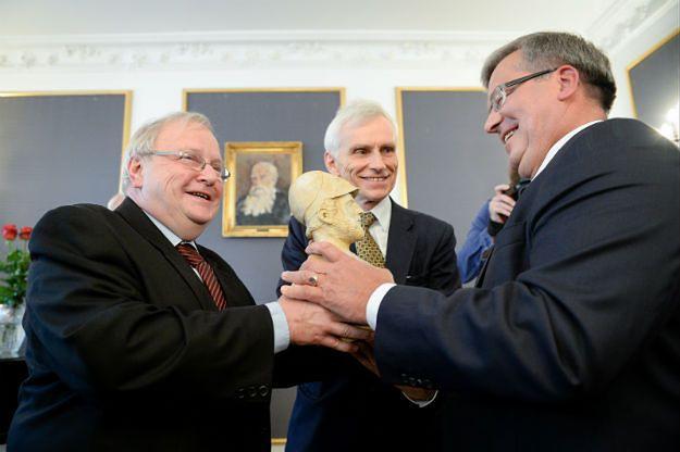 Bronisław Komorowski uhonorowany nagrodą dla współtwórców wolności i demokracji